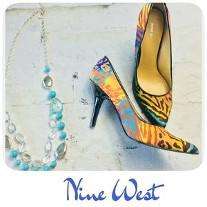 NINE WEST MARTINA PUMPS - SIZE 10
